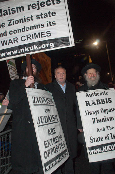 George Galloway poses with Neturei Karta