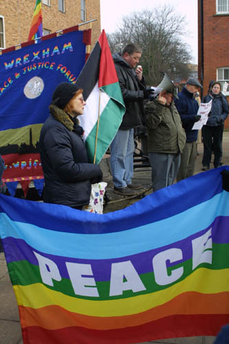 Wrexham Protest 1