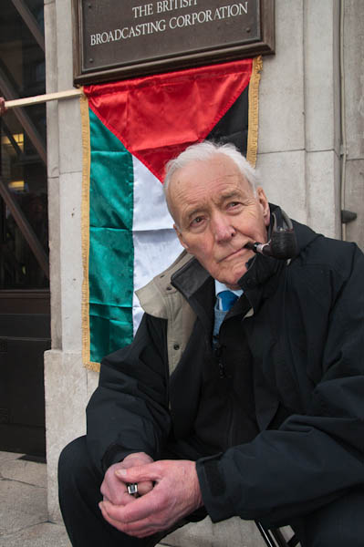 Tony Benn at Broadcasting House