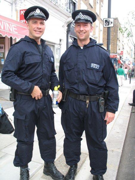 Police RIOT porn