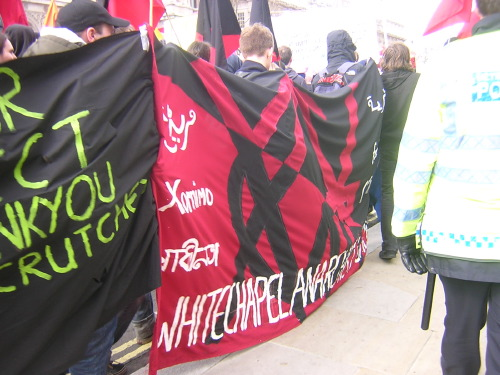 ... the Whitechapel Anarchists group ...