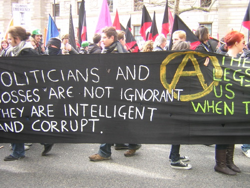 ... and a variety of anarchist groups from all over the UK.