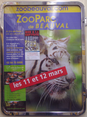 ADS FOR CIRCUS, ZOO MODIFIED (France)