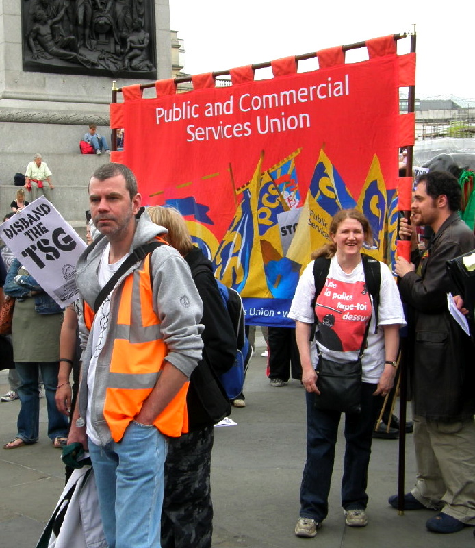 G. Working class solidarity through trade union support