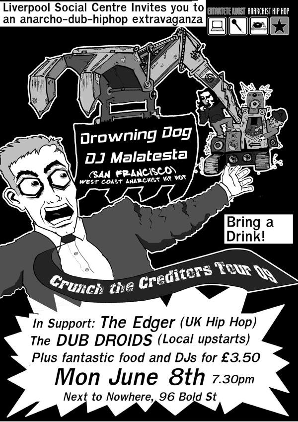 US Anarchist Hip Hop gig - June 8th - UK Indymedia