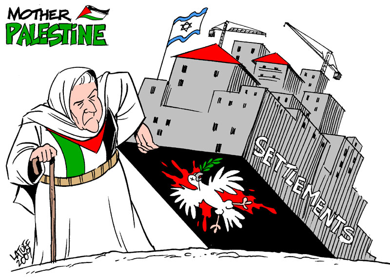 Mother Palestine and the Settlements