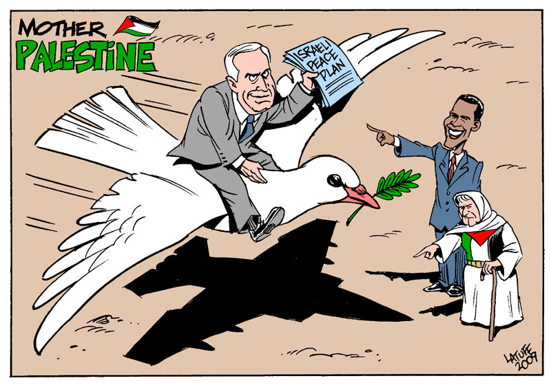 "Mother Palestine and the Israeli ""Peace Plan"""