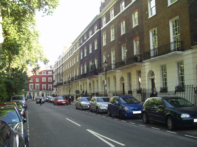 My picture of Blair's house in Connaught Square