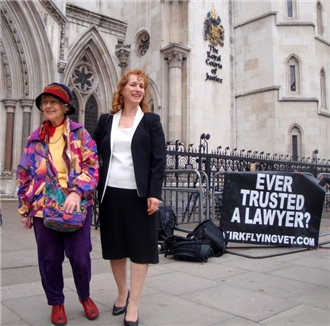Royal Courts of Justice Ever Trusted A Lawyer Kirk Campaign