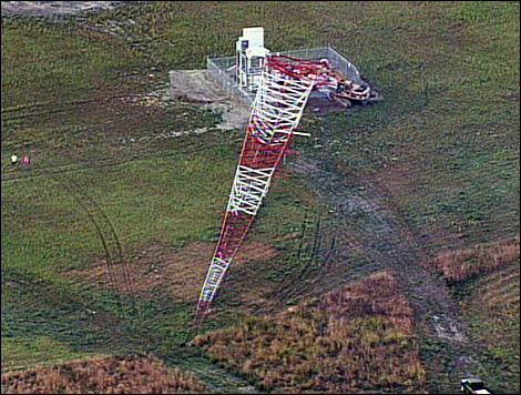 ELF Topples Radio Station Towers in Washington - UK Indymedia