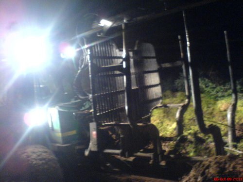 Machines stopped from felling at night