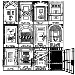 Government social policy - a prison society for us all