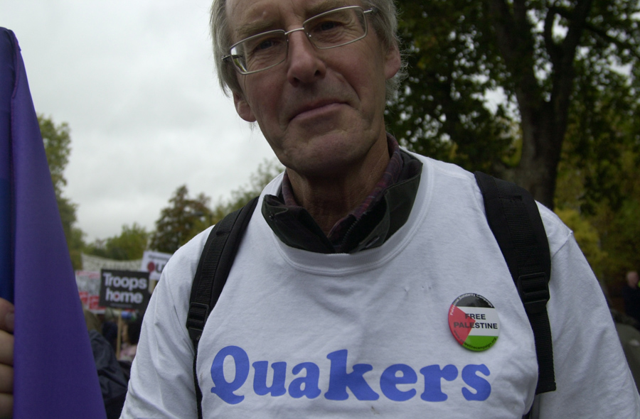 Quakers against the war!