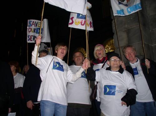 Deaf Action in action