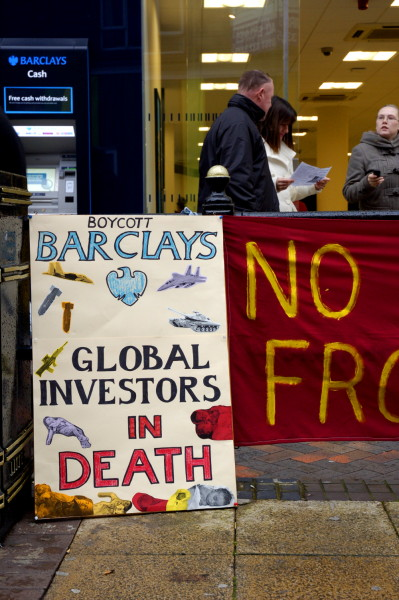 Boycott Barclays - Global Investors in Death