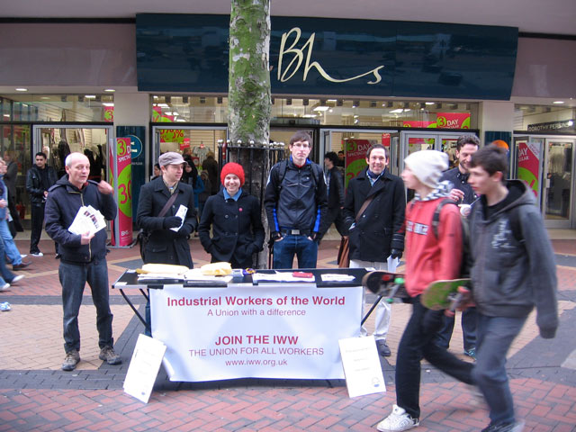 IWW Education Workers campaigning in defence of public education