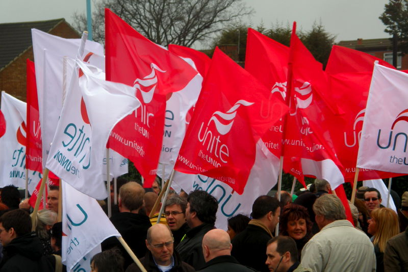 E2. A Sea of Unite Flags