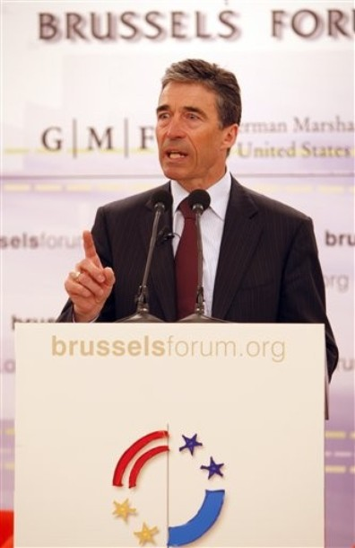 NATO Secretary General Rasmussen speaking at the Brussels Forum, 27 March 2010