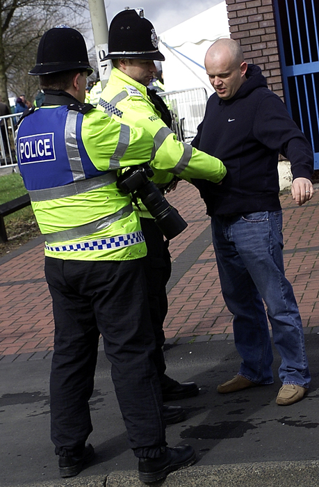 """Suspected"" EDL Supporter Searched."