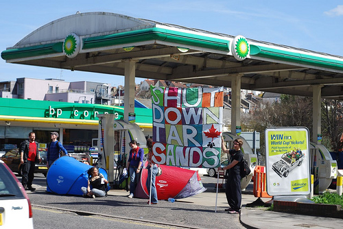 A Brighton petrol station gets a makeover