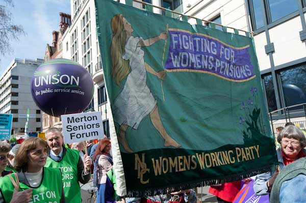 Fighting For Womens Pensions