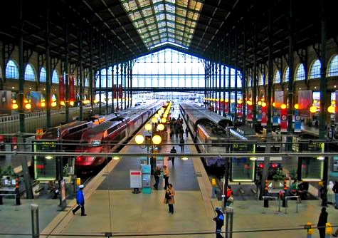The Gare du Nord