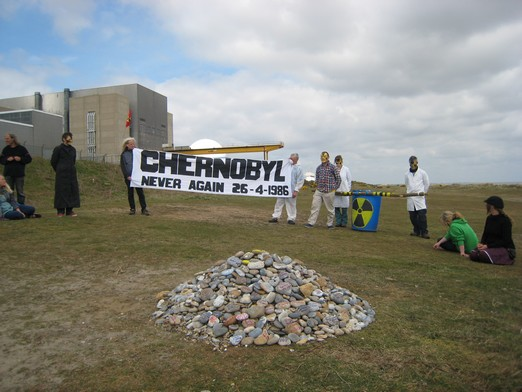 New Chernobyl memorial cairn
