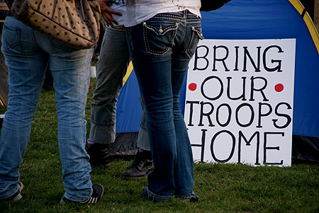 Bring Our Troops Home.