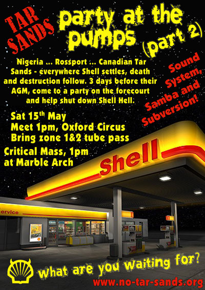 Party at the Pumps 2 - This time it's Shell