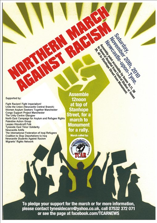 Northern march poster