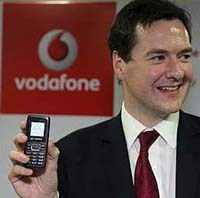 Osborne + Vodafone (though with admittedly cool solar mobile)