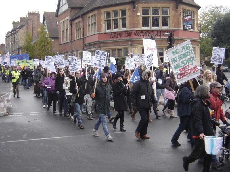 Anti-cuts march