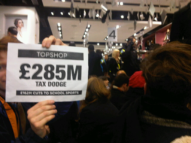 Topshop £285 million tax dodge