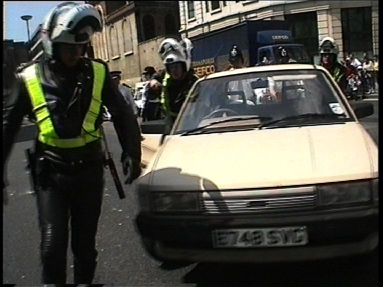 Car which PC Boyling was in (still from undercurrent svideo)
