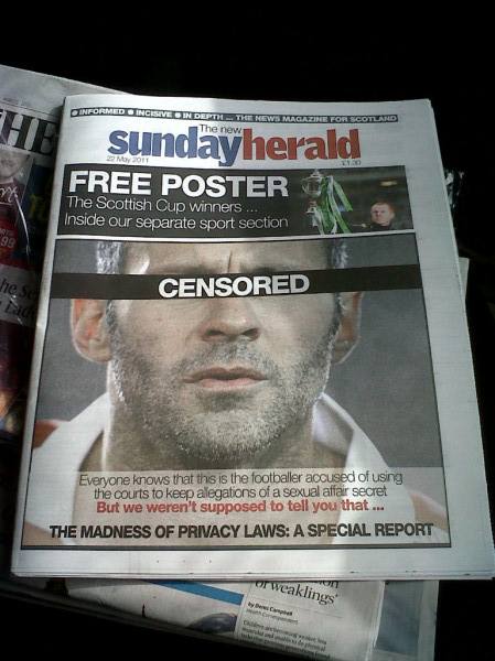 Sunday Herald Giggs front page at Indymedia.co.uk