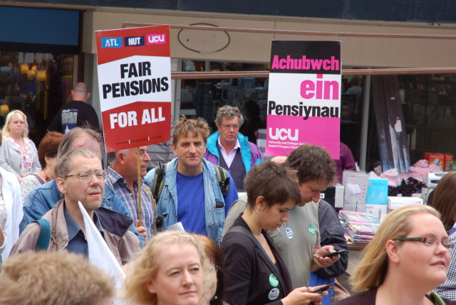 UCU: Save Our Pensions!