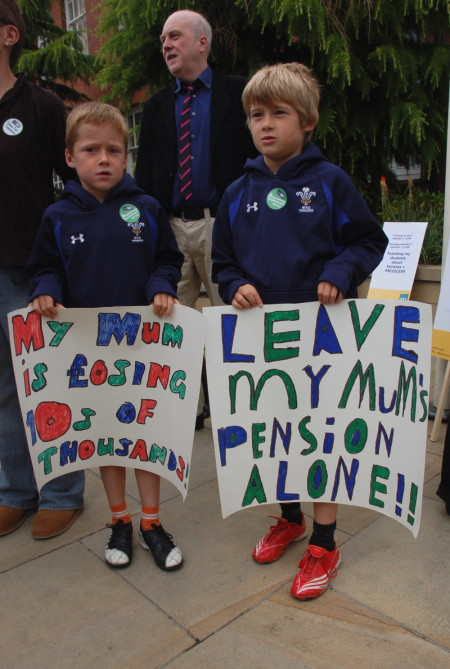 kids' placards