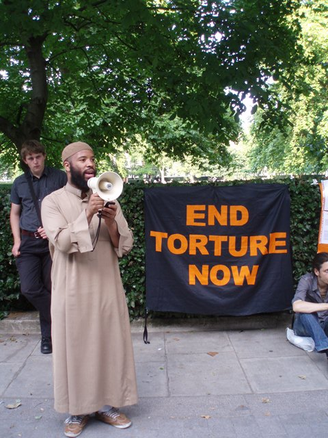 Ilyas Townsend from the Justice For Aafia Coalition