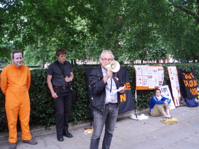 Ray Silk from the Save Shaker Aamer Campaign