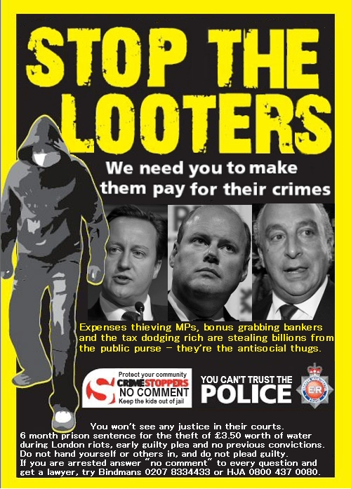 try again - stop the looters