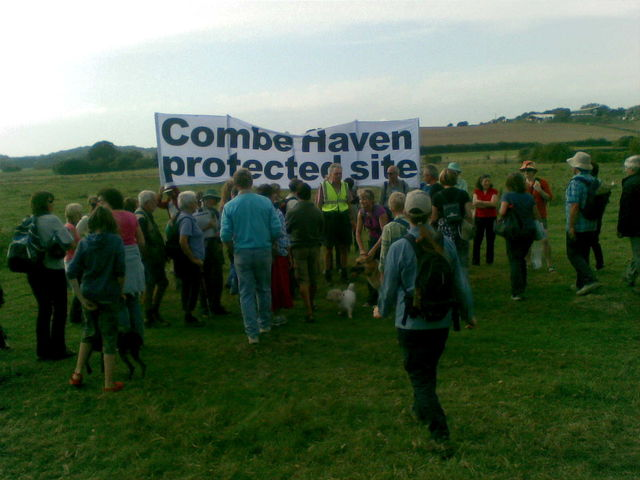 Anti-Bexhill Bypass Protest