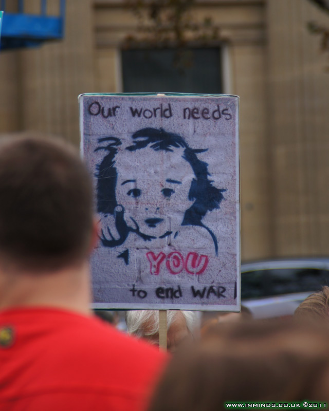 Our world needs YOU to end war