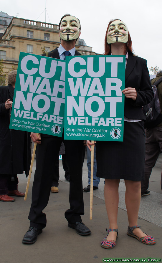 Cut War Not Welfare