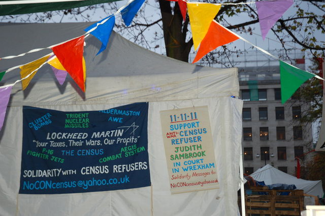 Banners at Finsbury Square