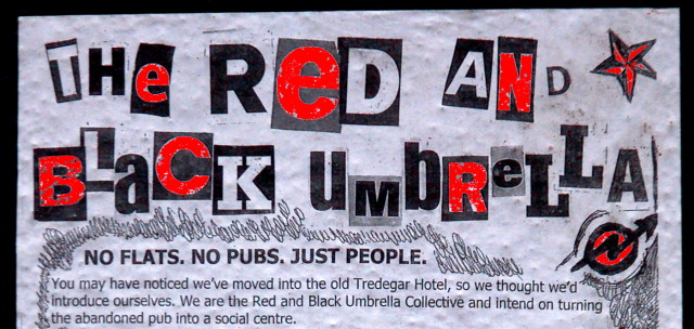 the red and black umbrella collective