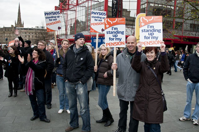 South Yorkshire physios standing up against the cuts.