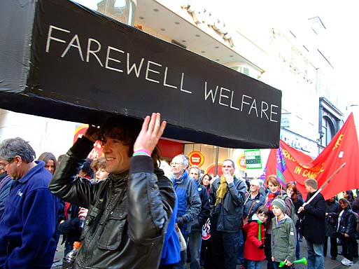 Welfare State now terminal..?