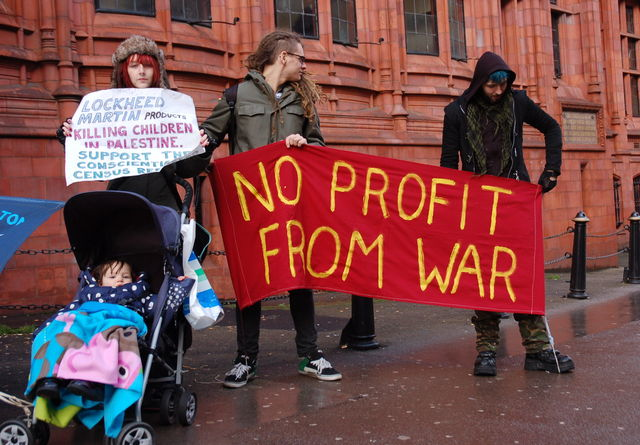 End the arms trade (and all wars)