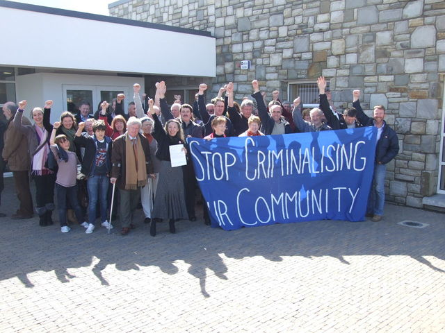 Stop criminalising our community