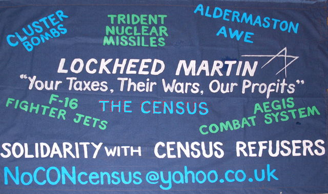 Lockheed Martin - World's largest arms manufacturer processing our census data